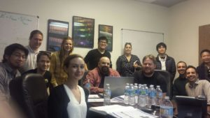 Prism Solar (Jose Castillo-Aguilella and Paul Hauser) hosted 13 QESST Scholars form ASU and UofA on Feb. 02, 2017.