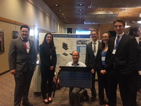 The 109 team with Dr. Opila at the final presentation