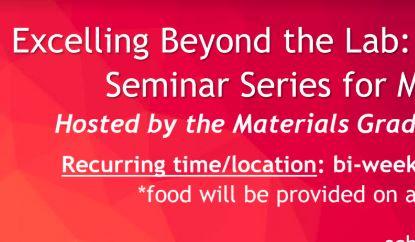 Seminars bi-weekly through Fall 2018